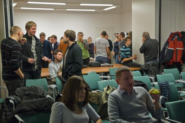 kgd krakowska grupa developerów .net Tomasz Ludwin Krzysztof Morcinek zdjecie ze spotkania