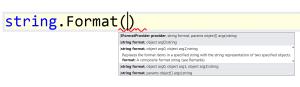string.Format pattern C# code