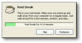 workrave rest break