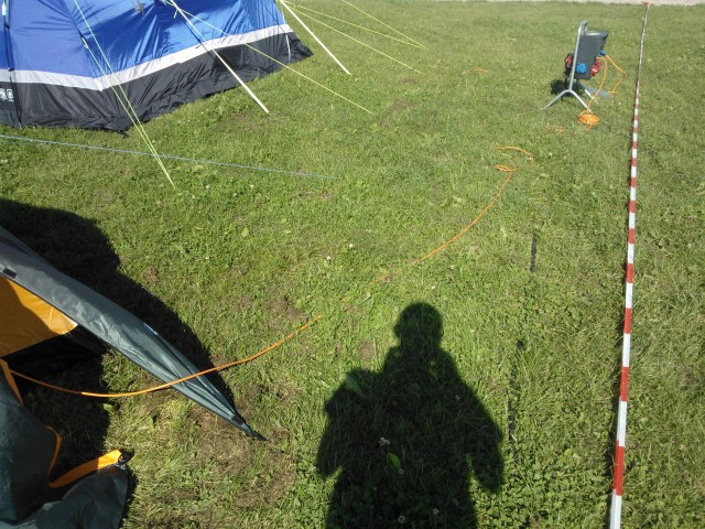 OHM2013 power cable to tent