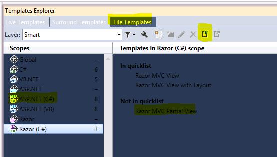 resharper file templates