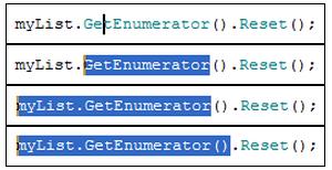 resharper extend selection