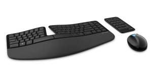 Sculpt Ergonomic Desktop keyboard full set