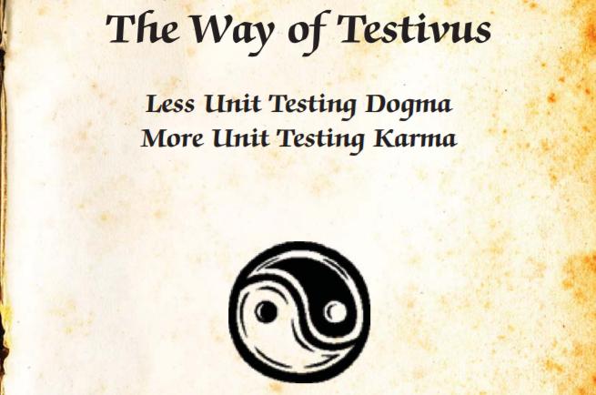 Testivus Unit Testing