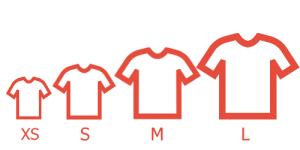 estimation tshirt sizes